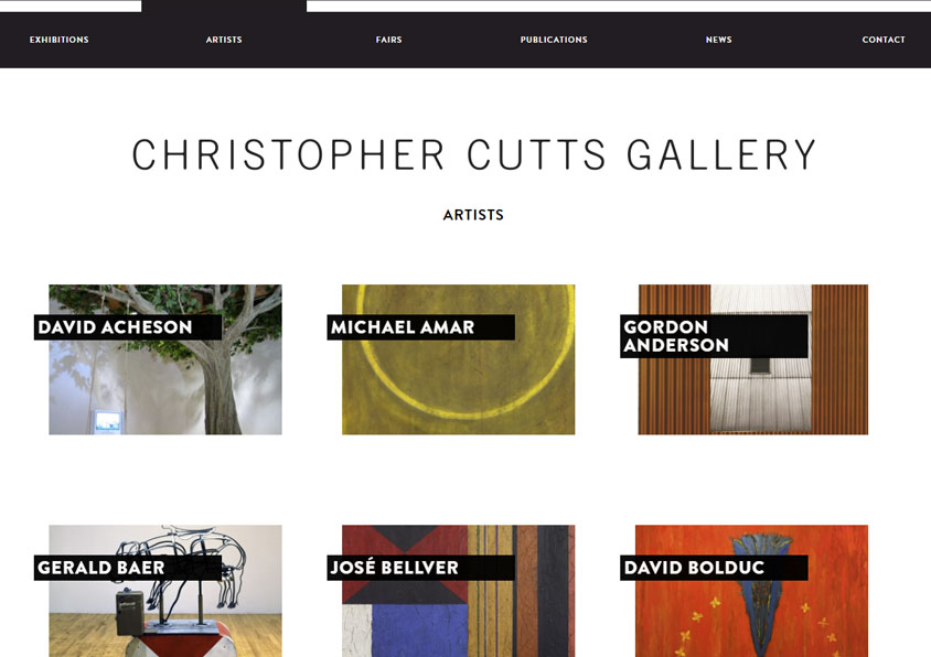 CHRIS CUTTS GALLERY